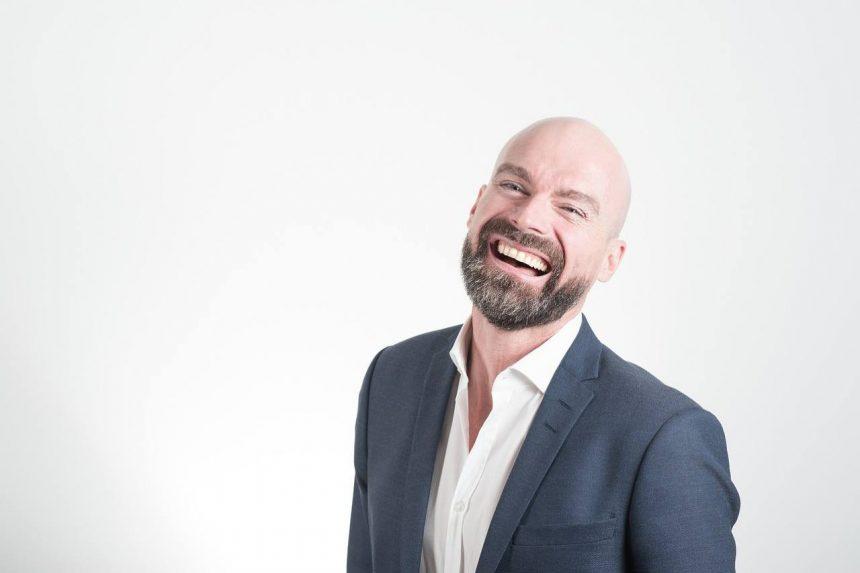 Männer mit Glatze sind sexy